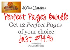 March Madness-Perfect Pages-Bundle of 12