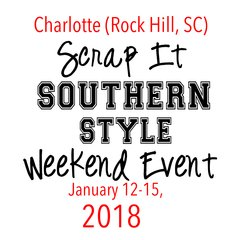 Charlotte (Rock Hill, SC) - SISS Weekend Event-VIP Package - January 12-15, 2018