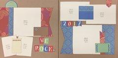 We Rock Page Kit