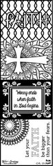 Bulk Pack-Flash Cards- Faith- Color It Fast!