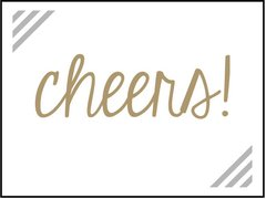 Cheers! - Southern Sparkle Flash Card