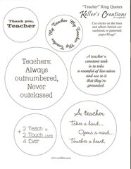 Teacher Ring Quotes