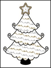 Tree - Southern Sparkle Flash Card