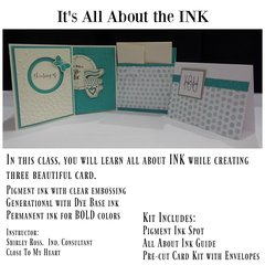 Class 9, St. Louis - It's All About the Ink, Sunday 1 pm