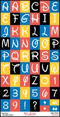 Alphabet Sheet - Super Dave Mini