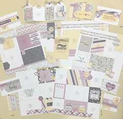 Scrap Without Scraps (Whispering Lilac) Additional Supply Kit
