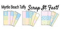 Myrtle Beach Taffy Scrap It Fast Kit