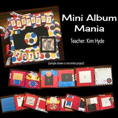 Class 3, Greenville - Mini Album Mania, Saturday 2:30 pm
