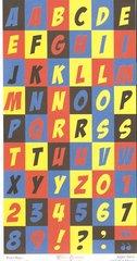 Alphabet Sheet- Clearance-Super Dave