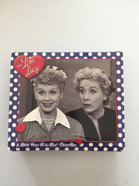 I Love Lucy 2006 A Year In A Box Calendar I Love Lucy