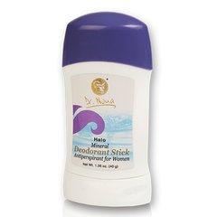 Mineral Deodorant Stick for women.