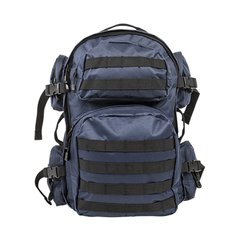 Tactical Backpack - Blue w/Black Trim