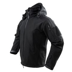 Delta Jacket-Black- XX Large