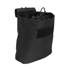 Folding Dump Pouch - Black