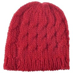 Women's Knit Cap-Red