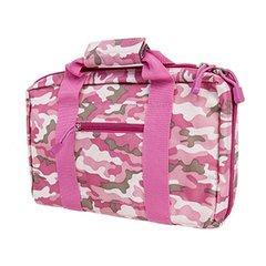Double 2 Pistol Case - Pink Camo