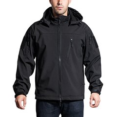 Anorak Jacket-Black-XX Large