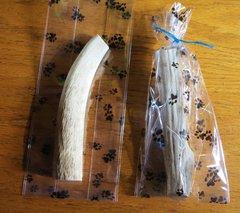 Elk Antler Dog Bones Medium