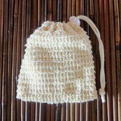 Natural Sisal Soap Saver Bag
