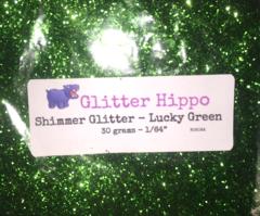 "Shimmer Glitter! - Lucky Green (1/64"")"