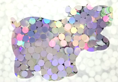 Color Shift Shape Glitter! - Unicorn Dots