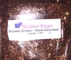 """Shimmer Glitter! - Black Hills Gold (1/64"""")"""