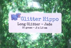 Long Glitter! - Jade (.3 x 1.5 mm)
