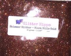 """Shimmer Glitter! - Black Hills Gold (1/128"""")"""