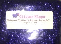 "Shimmer Glitter! - Frozen Waterfall (1/64"")"
