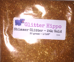 """Shimmer Glitter! - 24k Gold (1/128"""")"""