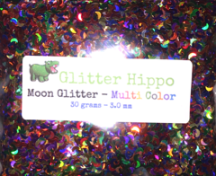 Moon Glitter! - Multi Color  (3 mm)
