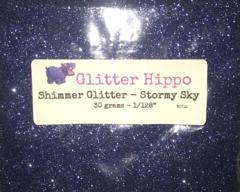 "Shimmer Glitter! - Stormy Sky (1/128"")"