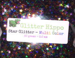 Star Glitter! - Multi Color (3 mm)