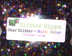 Star Glitter! - Multi Color (3 mm)