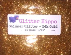 """Shimmer Glitter! - 24k Gold (1/64"""")"""