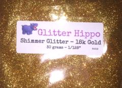 """Shimmer Glitter! - 18k Gold (1/128"""")"""