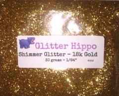 """Shimmer Glitter! - 18k Gold (1/64"""")"""