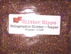 """Holographic Glitter! - Copper (1/128"""")"""