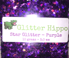 Star Glitter! - Purple (3 mm)