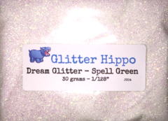 "Dream Glitter! - Spell Green (1/128"")"