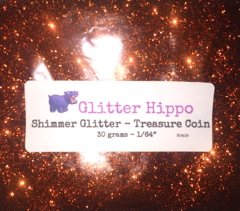 "Shimmer Glitter! - Treasure Coin (1/64"")"