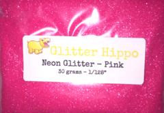 """Neon Glitter! - Pink (1/128"""")"""