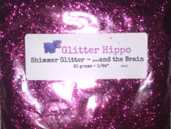 "Shimmer Glitter! - ...and the Brain (1/64"")"