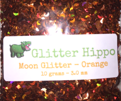 Moon Glitter! - Orange (3 mm)