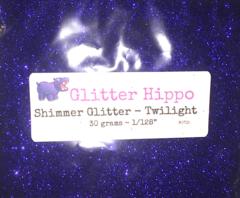"""Shimmer Glitter! - Twilight (1/128"""")"""