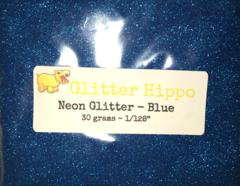 "Neon Glitter! - Blue (1/128"")"