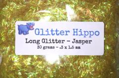 Long Glitter! - Jasper  (.3 x 1.5 mm)