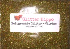 "Holographic Glitter! - Citrine (1/128"")"
