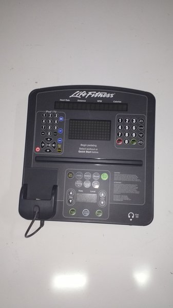 Life Fitness Integrity Series Bike Console - Used - Ref# 10339