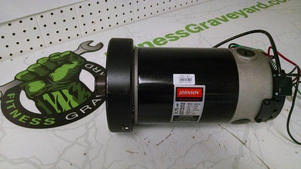 Livestrong 10.0T/13.0T/Horizon Elite 3.2T/3.3T Treadmill Drive Motor - Used - ref. # jg4642/OKC-189